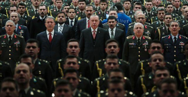 Turkiets president Erdogan/arkivbild. TT NYHETSBYRÅN/ NTB Scanpix