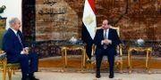 Abd Fatah al-Sisi och Khalifa Haftar. TT NYHETSBYRÅN/ NTB Scanpix