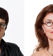 Helle Klein och Heidi Avellan.  Mynewsdesk, Sveriges Tidskrifter, Helsingborg stad