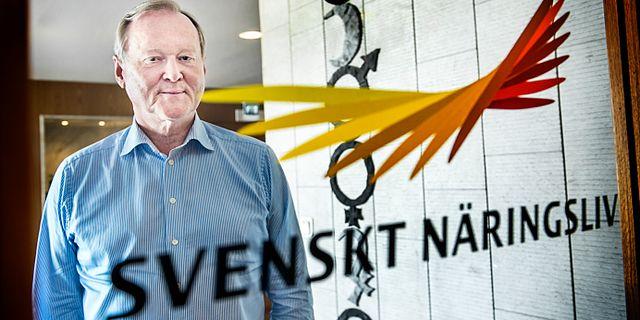 Leif Östling var tidigare ordförande för Svenskt Näringsliv. Tomas Oneborg/SvD/TT / TT NYHETSBYRÅN