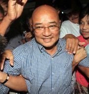 Zarganar 2011. Khin Maung Win / TT NYHETSBYRÅN