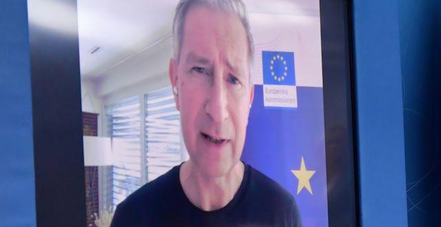 Richard Bergström, Sveriges vaccinsamordnare Jonas Ekströmer/TT / TT NYHETSBYRÅN