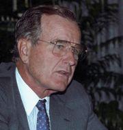 George H W Bush. GARY CAMERON / TT NYHETSBYRÅN