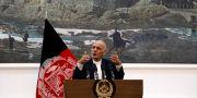 Arkivbild. Afghanistans president Ashraf Ghani. MOHAMMAD ISMAIL / TT NYHETSBYRÅN