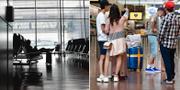 Arkivbilder/Charterresenärer på Arlanda 2 juli. TT