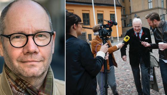 Peter Englund och Kjell Espmark.