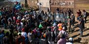 Migranter nära gränsen mellan USA och Mexiko Rodrigo Abd / TT NYHETSBYRÅN/ NTB Scanpix