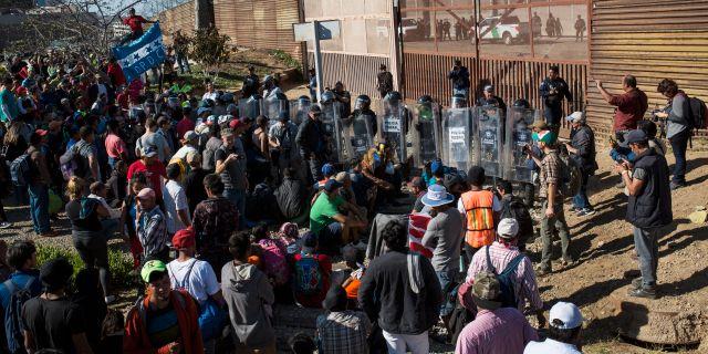 Bildresultat för gränsen mot mexiko