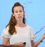 Susanne Spector, senior analytiker Jessica Gow/TT / TT NYHETSBYRÅN