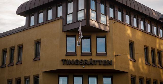 Norrköpings tingsrätt. Vilhelm Stokstad/TT / TT NYHETSBYRÅN