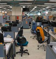 Apple Dailys kontor. TT.