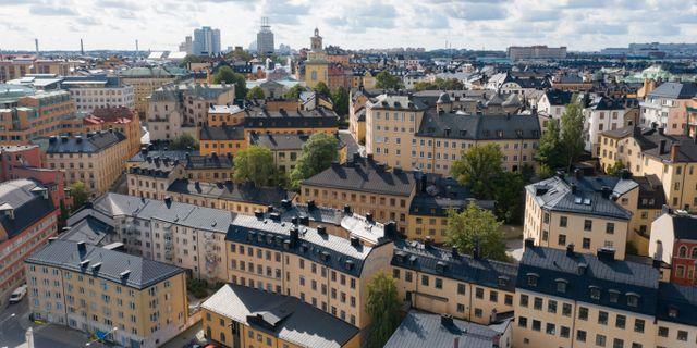 Södermalm. Fredrik Sandberg/TT / TT NYHETSBYRÅN