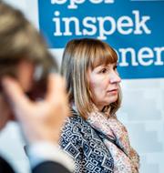 Camilla Rosenberg, generaldirektör och Johan Röhr, chefsjurist på Spelinspektionen TT