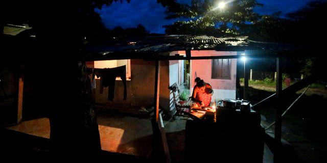 Alex hemstad La Libertad i Honduras. Illus Esteban Felix / TT NYHETSBYRÅN/ NTB Scanpix