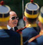 President al-Sisi på statsbesök i Rumänien. Vadim Ghirda / TT NYHETSBYRÅN