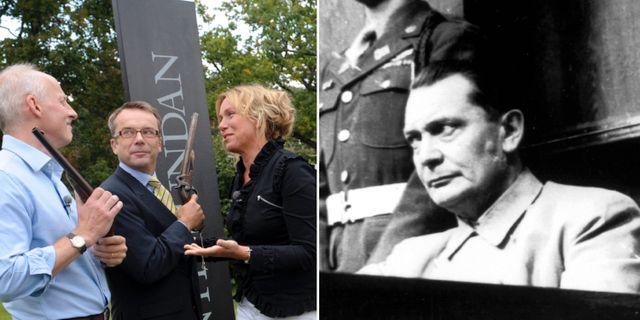 Antikrundan, Göring under Nürnbergrättegången. Arkivbilder TT
