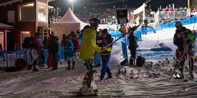 Världscuptävling i Hammarbybacken. Arkivbild. DANIEL STILLER / BILDBYR N