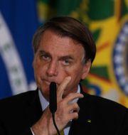 Jair Bolsonaro, Brasiliens president. Eraldo Peres / TT NYHETSBYRÅN