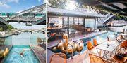Paris första flytande hotell ligger precis vid tunnelbanan och bara två kilometer från Notre Dame. Off Paris Seine