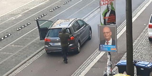 Mobilfilm från attacken. REUTERS TV / TT NYHETSBYRÅN