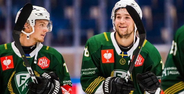 Axel Ottosson (vänster). Arkivbild. FREDRIK KARLSSON / BILDBYRÅN