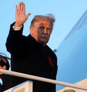 Donald Trump och Melania Trump.  Patrick Semansky / TT NYHETSBYRÅN
