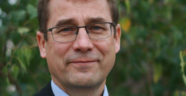 Ulrik Åshuvud, ordförande för Transparency International Sverige.  press
