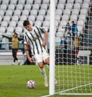 Alvaro Morata  fick tre mål bortdömda. Antonio Calanni / TT NYHETSBYRÅN