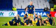 De svenska spelarna deppar efter semifinalsförlusten. PETTER ARVIDSON / BILDBYRÅN