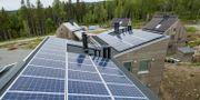 Solceller på privatbostäder i Norge. Meek, Tore / TT NYHETSBYRÅN