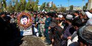 Polischefen Abdul Raziq dödades i attacken. STR / TT NYHETSBYRÅN