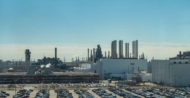Fordfabrik i Dearborn, Michigan.  Shutterstock