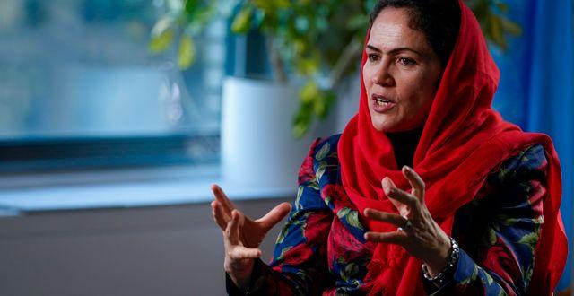 Fawzia Koofi Mary Altaffer / TT NYHETSBYRÅN
