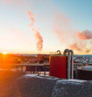 LKAB:s gruva i Kiruna. Hanna Franzén/TT / TT NYHETSBYRÅN