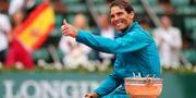 Rafael Nadal.  PASCAL ROSSIGNOL / TT NYHETSBYRÅN