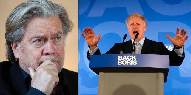 Steve Bannon / Boris Johnson.  TT