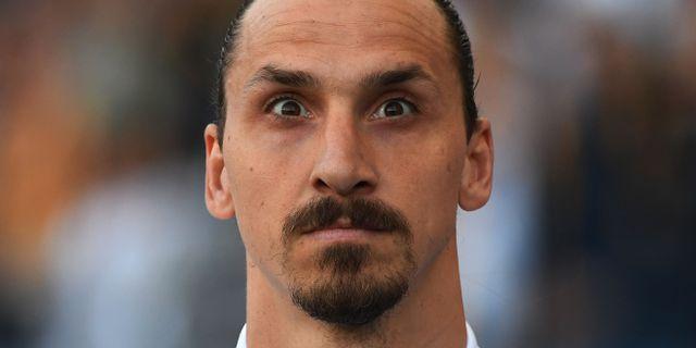 Zlatan Ibrahimovic. MARK RALSTON / AFP