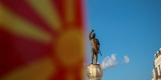 Arkivbild. Skopje. Marko Djurica / TT NYHETSBYRÅN