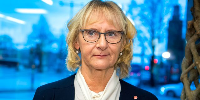 Lena Micko (S). Claudio Bresciani/TT / TT NYHETSBYRÅN