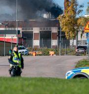 Brandstationen i Hörby.  Johan Nilsson/TT / TT NYHETSBYRÅN