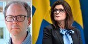 Oskar Nordström Skans och Eva Nordmark. Sören Andersson och TT.