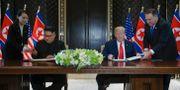 Kim Jong-Un och Donald Trump. Evan Vucci / TT / NTB Scanpix