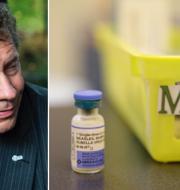 Seth Berkley, chef för vaccinationsalliansen Gavi, oroar sig för utvecklingen. TT