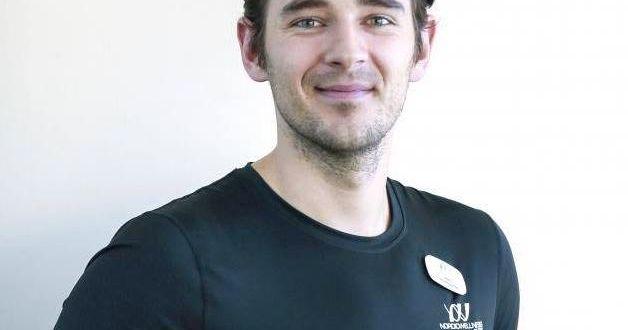 Samir Celjo, personlig tränare på Nordic Wellness.  Nordic Wellness