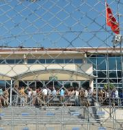 Fängelset där rättegången mot Osman Kavala hölls 2019/Arkivbild Ibrahim Mase / TT NYHETSBYRÅN