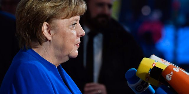 Angela Merkel.  JOHN MACDOUGALL / AFP