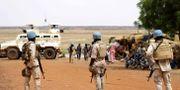 FN-soldater i Mali. Arkivfoto. SOULEYMANE AG ANARA / AFP