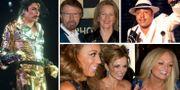 Michael jackson, ABBA, Lou Bega och Spice Girls. TT