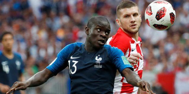N'Golo Kanté under finalmatchen DAMIR SAGOLJ / BILDBYR N