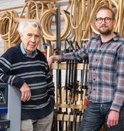 Åke Axelsson och Daniel Eriksson Press